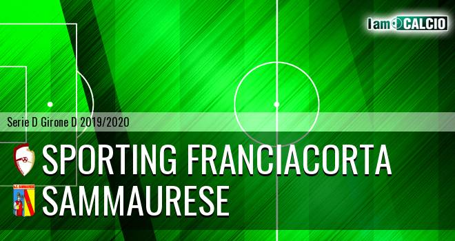 Sporting Franciacorta - Sammaurese