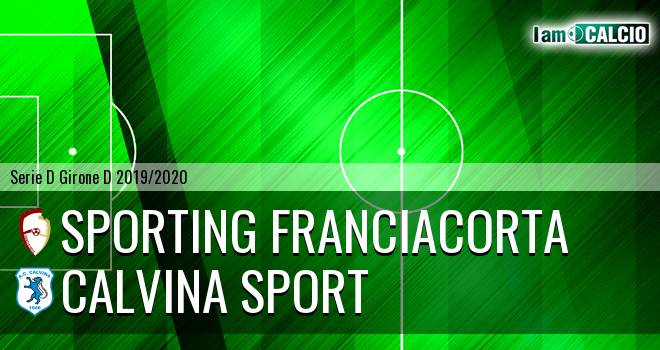 Sporting Franciacorta - Calvina Sport
