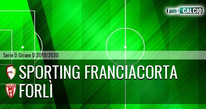 Sporting Franciacorta - Forlì