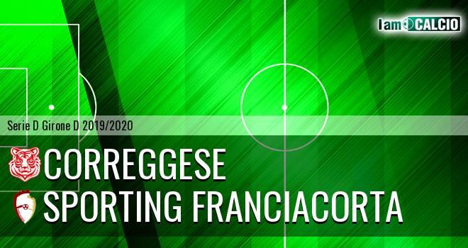 Correggese - Sporting Franciacorta