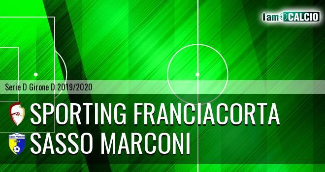 Sporting Franciacorta - Sasso Marconi
