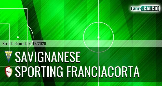 Savignanese - Sporting Franciacorta