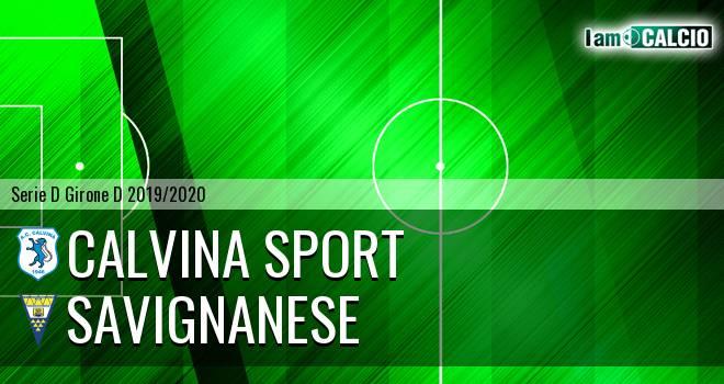 Calvina Sport - Savignanese