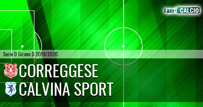 Correggese - Calvina Sport