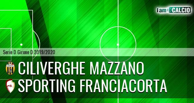 Ciliverghe Mazzano - Sporting Franciacorta