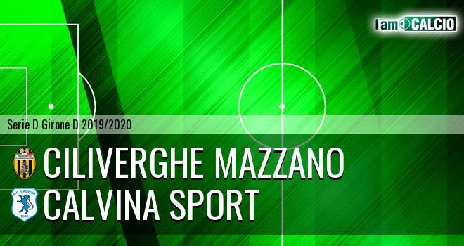 Ciliverghe Mazzano - Calvina Sport