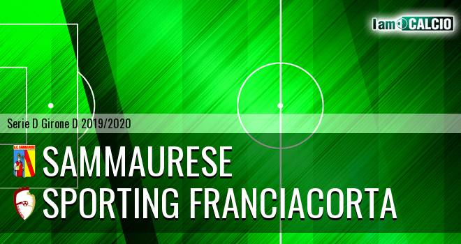 Sammaurese - Sporting Franciacorta