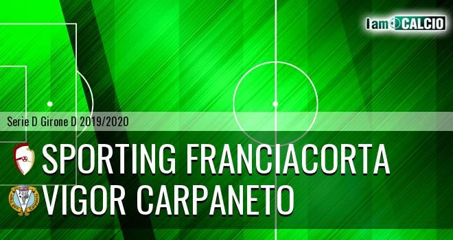 Sporting Franciacorta - Vigor Carpaneto