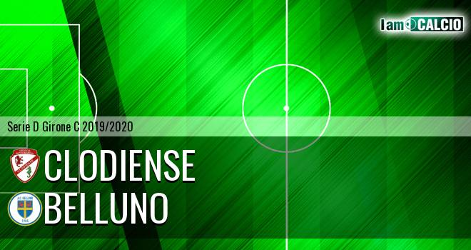 Union Clodiense - Belluno