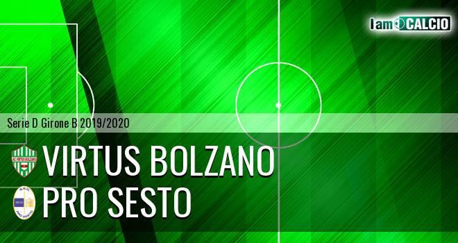 Virtus Bolzano - Pro Sesto