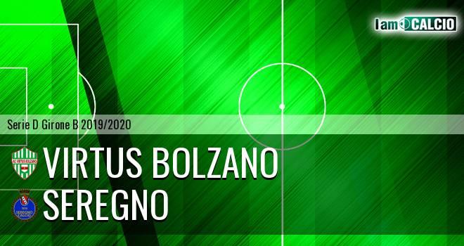 Virtus Bolzano - Seregno