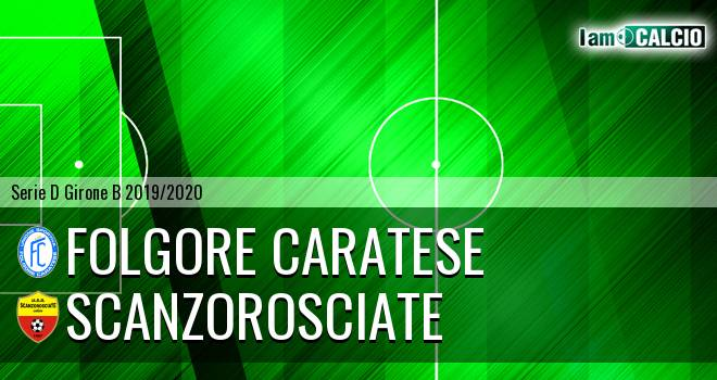 Folgore Caratese - Scanzorosciate