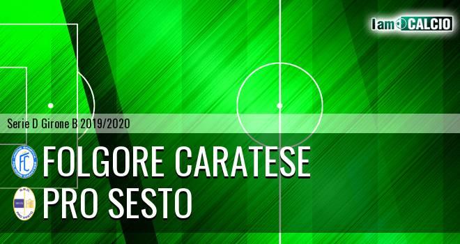 Folgore Caratese - Pro Sesto
