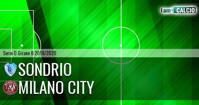 Sondrio - Milano City