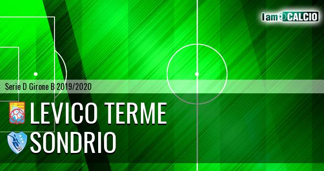 Levico Terme - Sondrio