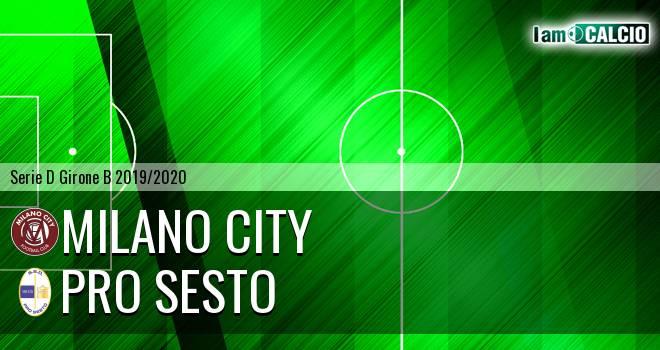 Milano City - Pro Sesto