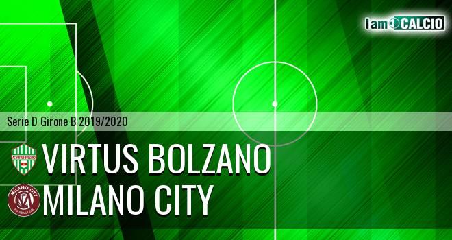 Virtus Bolzano - Milano City
