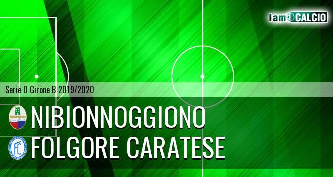NibionnOggiono - Folgore Caratese
