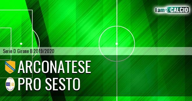 Arconatese - Pro Sesto