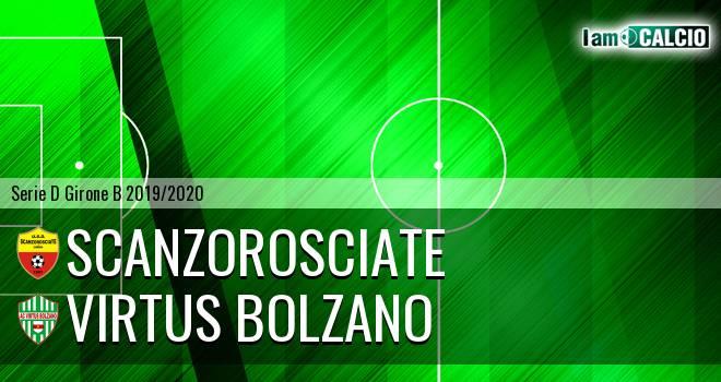 Scanzorosciate - Virtus Bolzano