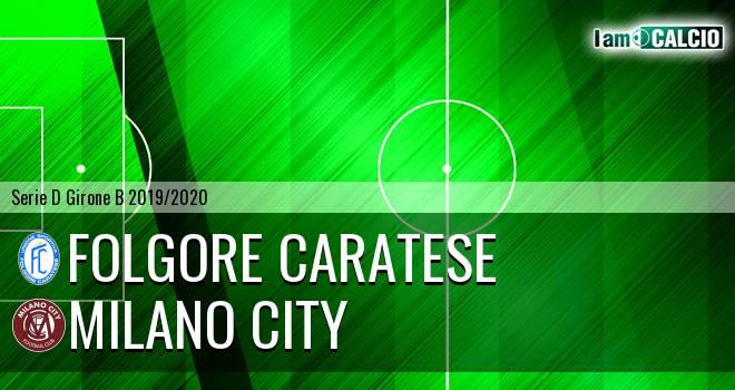 Folgore Caratese - Milano City