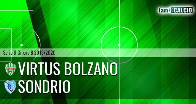 Virtus Bolzano - Sondrio