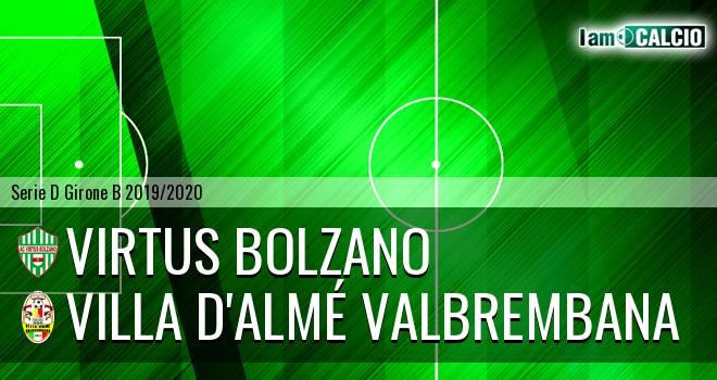 Virtus Bolzano - Villa Valle