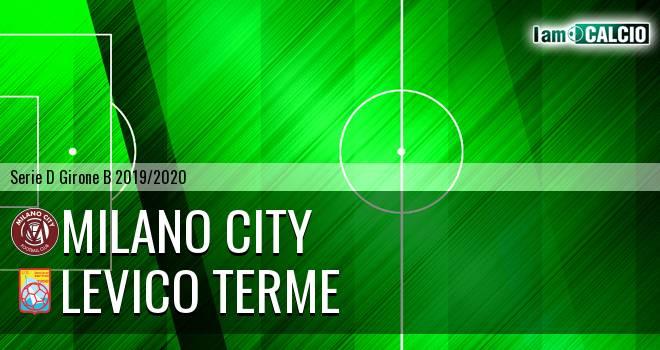 Milano City - Levico Terme