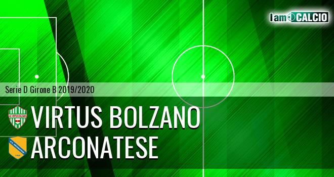 Virtus Bolzano - Arconatese