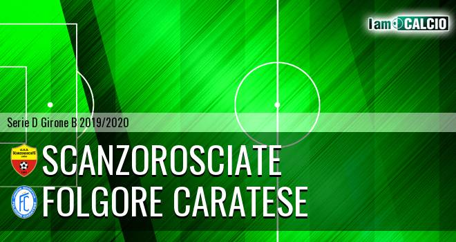 Scanzorosciate - Folgore Caratese