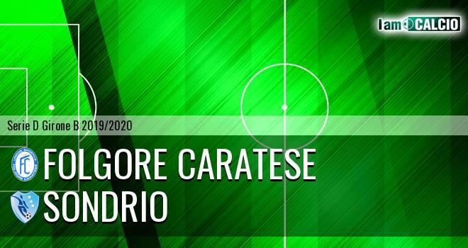 Folgore Caratese - Sondrio