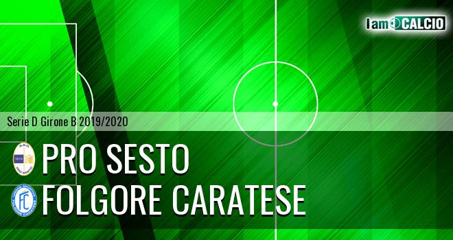Pro Sesto - Folgore Caratese