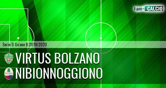 Virtus Bolzano - NibionnOggiono