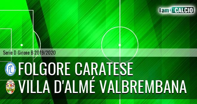 Folgore Caratese - Villa Valle