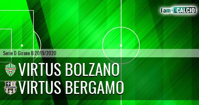 Virtus Bolzano - Virtus CiseranoBergamo