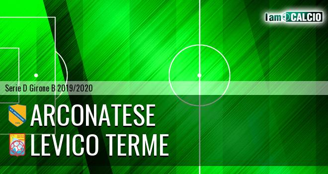 Arconatese - Levico Terme