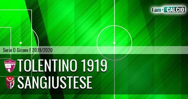 Tolentino 1919 - Sangiustese