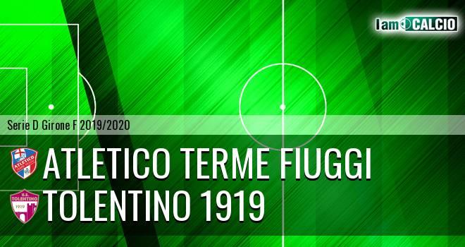 Atletico Terme Fiuggi - Tolentino 1919