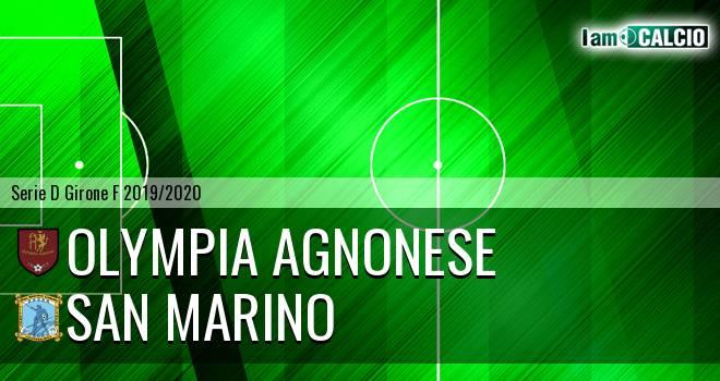 Olympia Agnonese - Cattolica Calcio SM