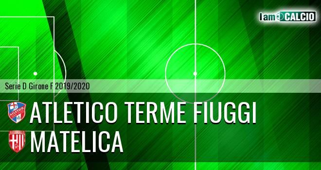 Atletico Terme Fiuggi - Matelica
