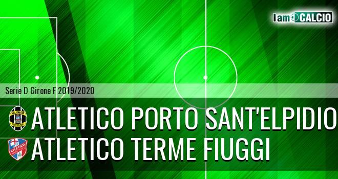 Atletico Porto Sant'Elpidio - Atletico Terme Fiuggi