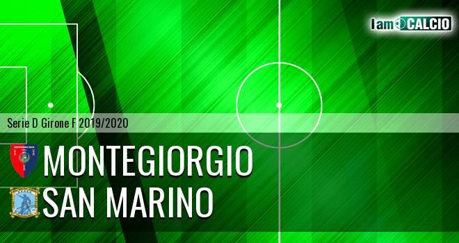 Montegiorgio - Cattolica Calcio SM