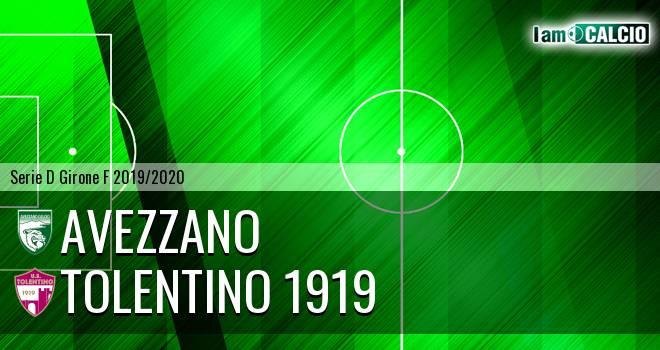 Avezzano - Tolentino 1919