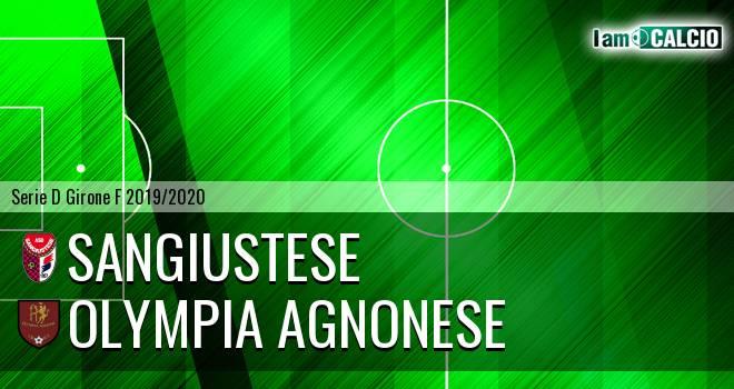 Sangiustese - Olympia Agnonese