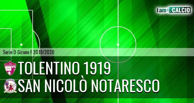 Tolentino 1919 - San Nicolò Notaresco