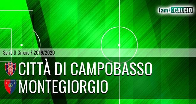 Città di Campobasso - Montegiorgio