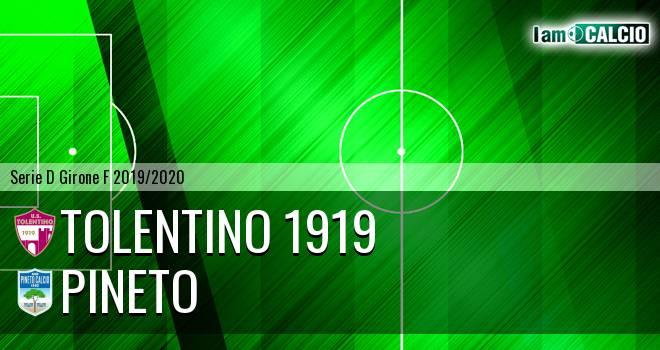 Tolentino 1919 - Pineto