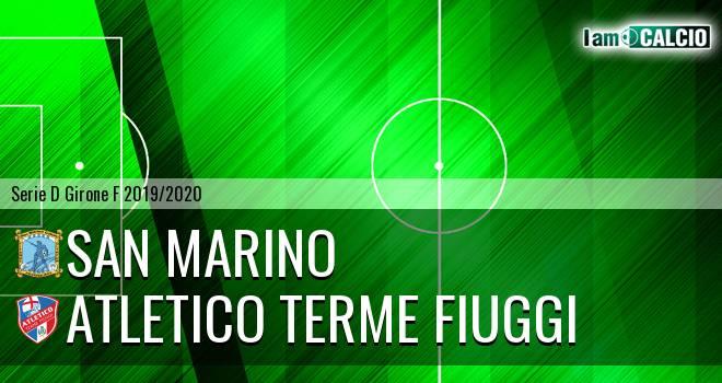 Cattolica Calcio SM - Atletico Terme Fiuggi