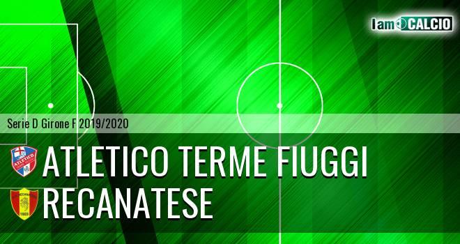 Atletico Terme Fiuggi - Recanatese