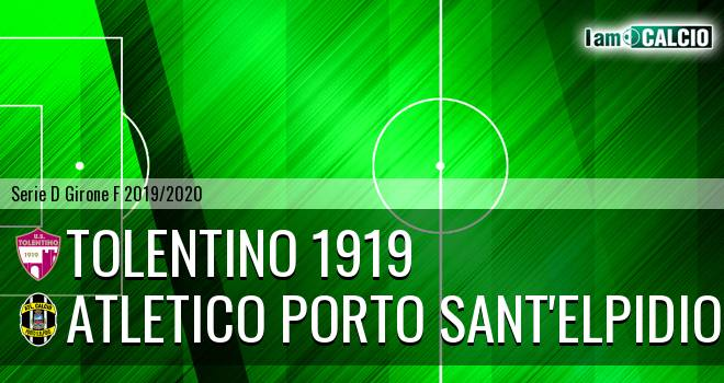 Tolentino 1919 - Atletico Porto Sant'Elpidio